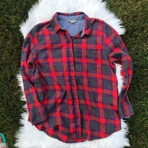 Lucky Brand Large Flannel